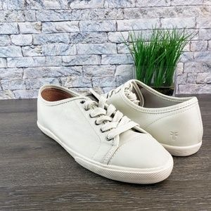 NEW Frye Mindy Low Top Leather Sneaker